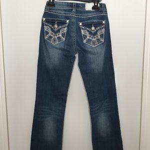 Shyanne jeans embellished pockets sz 26